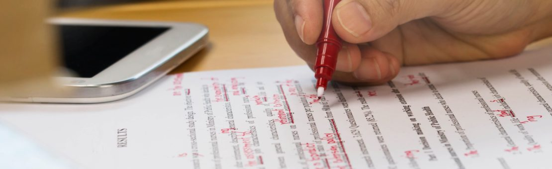 Proofreading of documents
